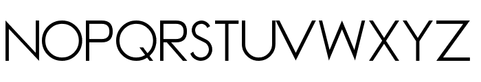 Madeleina Sans Font UPPERCASE
