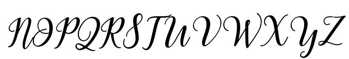 MadelinaBold Font UPPERCASE