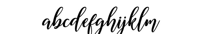 MadelinaBold Font LOWERCASE