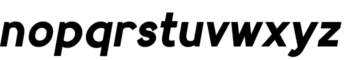 MadeynSans Bold Italic Font LOWERCASE