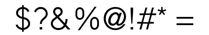 MadeynSans Light Font OTHER CHARS
