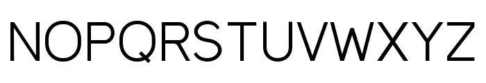 MadeynSans Light Font UPPERCASE