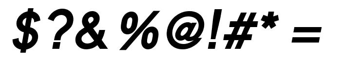 MadeynSans Semibold Italic Font OTHER CHARS