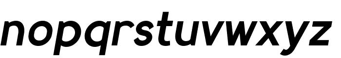 MadeynSans Semibold Italic Font LOWERCASE