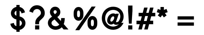 MadeynSans Semibold Font OTHER CHARS