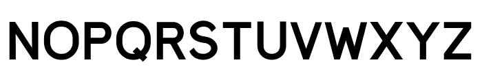 MadeynSans Semibold Font UPPERCASE
