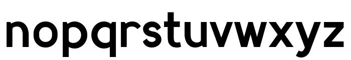 MadeynSans Semibold Font LOWERCASE