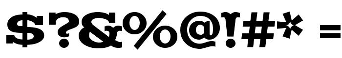 Madfont Font OTHER CHARS