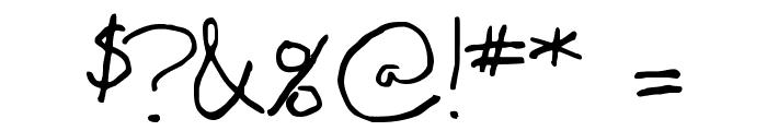 Madgecrack Font OTHER CHARS