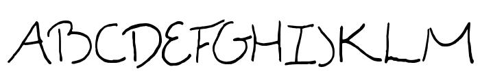 Madgecrack Font UPPERCASE