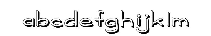 MadisonShadowed Font LOWERCASE