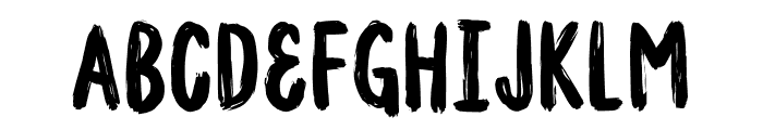 Madpakke DEMO Regular Font UPPERCASE