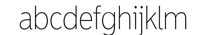 MadrasExtraLight Font LOWERCASE
