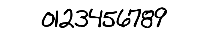 Mad's Scrawl BRK Font OTHER CHARS