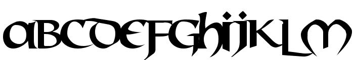 Mael Font LOWERCASE