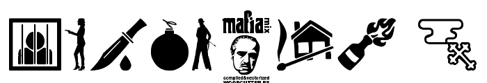 Mafia Mix Font OTHER CHARS