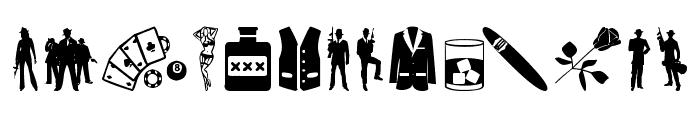 Mafia Mix Font LOWERCASE