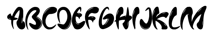 Mafieso Font UPPERCASE
