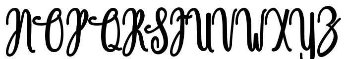Magdalen Free Font UPPERCASE