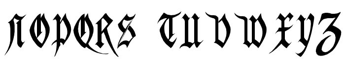 Magdelena Regular Font UPPERCASE