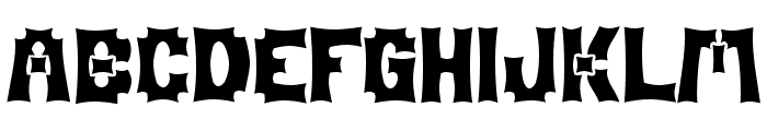Mage Font UPPERCASE