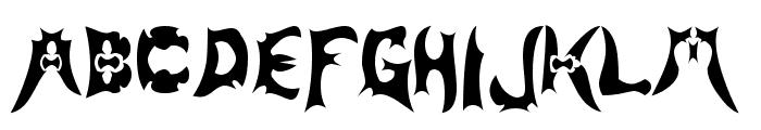 Magehunter Font LOWERCASE