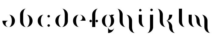 Magenta Flow Regular Font LOWERCASE