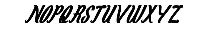 Magenta Flower Font UPPERCASE