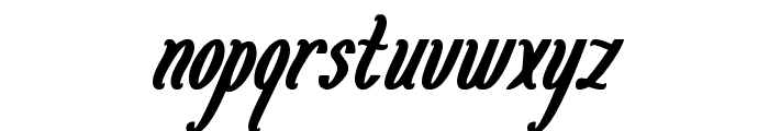 Magenta Flower Font LOWERCASE