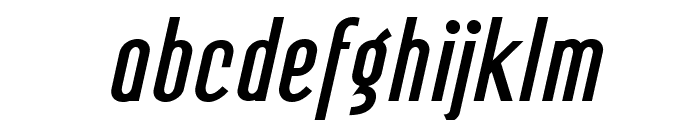 Mager Fat Italic Font LOWERCASE