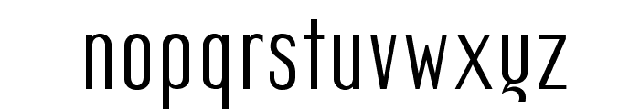 Mager Font LOWERCASE