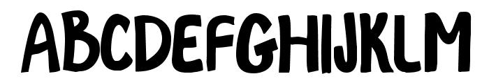 MaggieMoo-Regular Font UPPERCASE