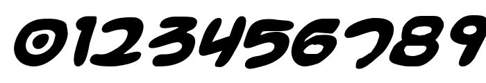 Magic Beans Bold Italic Font OTHER CHARS