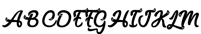 Magic Candy Font UPPERCASE