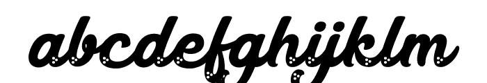 Magic Candy Font LOWERCASE