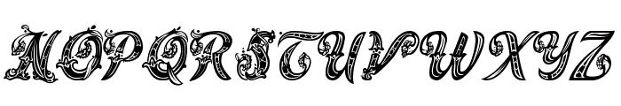 Magic Fleurons NC Font UPPERCASE