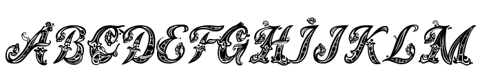 Magic Fleurons NC Font LOWERCASE