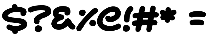 Magic Moonshine Font OTHER CHARS