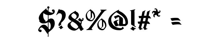 Magic School One Font OTHER CHARS