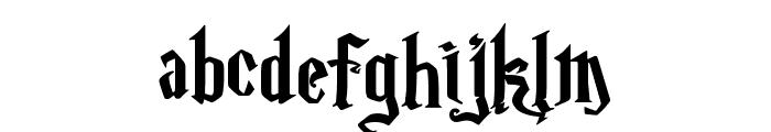Magic School One Font LOWERCASE