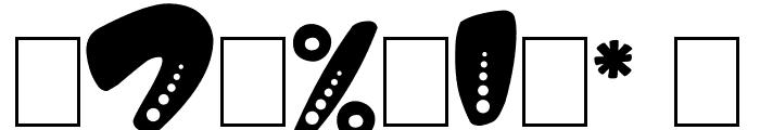 Magic Spots Font OTHER CHARS