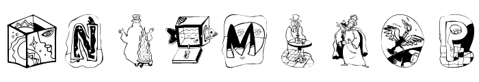 MagicActs Font OTHER CHARS