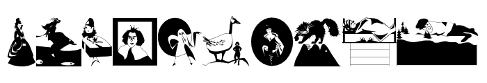 MagicBats Font OTHER CHARS
