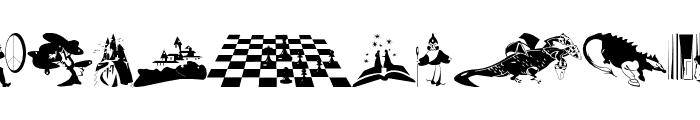 MagicBats Font UPPERCASE