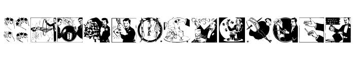 MagicCatalog2 Font LOWERCASE