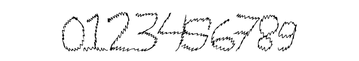 MagicScribble Font OTHER CHARS