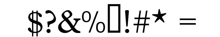 MagicSymbols Font OTHER CHARS