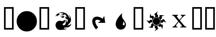 MagicSymbols Font UPPERCASE