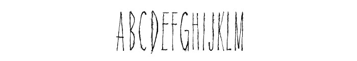 Magical Cord Font UPPERCASE