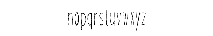 Magical Cord Font LOWERCASE
